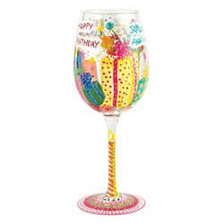 Beautiful Birthday Wine Glass