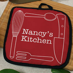 Personalized Kitchen Essentials Pot Holder