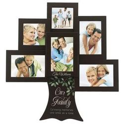 Personalized Family Tree Six Picture Collage Frame
