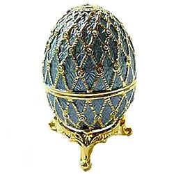 Light Blue Faberge Egg Box