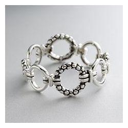 Silver-Tone Flex Bracelet