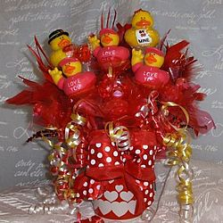Valentine Rubber Duck Bouquet