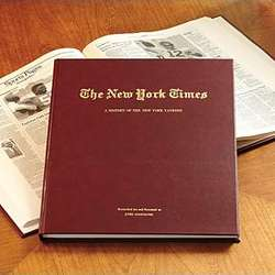 Personalized New York Times Book