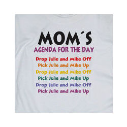 My Agenda for the Day T-Shirt