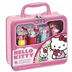 Hello Kitty Collectible Pez Dispenser Set