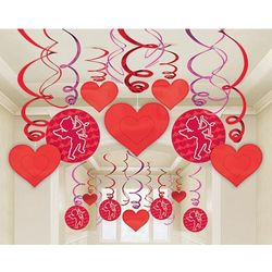 Valentine Mega Pack Swirl Decorations