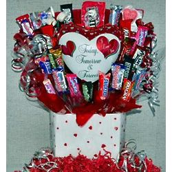 Today, Tomorrow and Forever Candy Bouquet