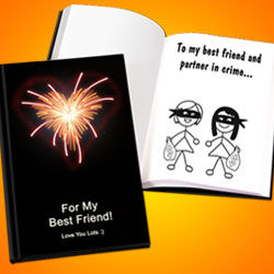 Personalized LoveBook for Friends