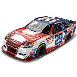 NASCAR Kevin Harvick Red, White, and Blue Diecast Car