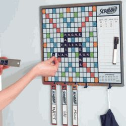 Scrabble Message Board