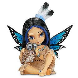 Moonheart Spirit of Wisdom Figurine