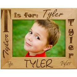 Wooden Personalized Name Frame