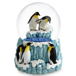 Musical Penguin Snowglobe