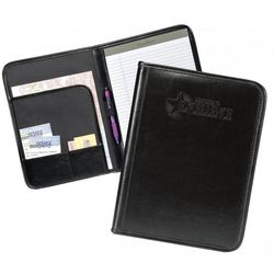 Successories Dedicated to Excellence Black Leather Padfolio