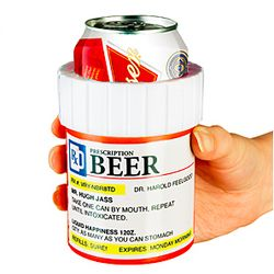 Prescription Bottle Koozies
