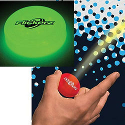 Flickerz Glow-in-the-Dark Flying Disc