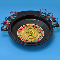 6-Glass Roulette Drinking Game