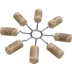 Remake-It Stainless Steel Wine Corks Trivet