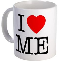 I Heart Me Ceramic Mug