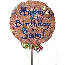 "7"" Giant Personalized Cookie Pop"