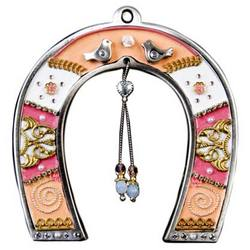 Hanging Love Horseshoe Amulet