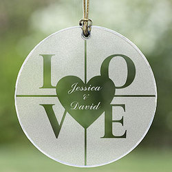 All You Need Is Love Suncatcher