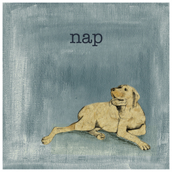 Dog Days - Nap Wall Art
