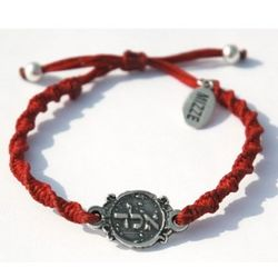 ALD 72 Names of God Red Bracelet