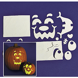 Glow-In-The-Dark Pumpkin Decorating Craft Kit