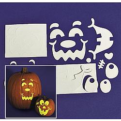 Glow-In-The-Dark Pumpkin Decorating Craft Kit