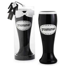 Groomsman Pilsner Bow Tie & Tuxedo