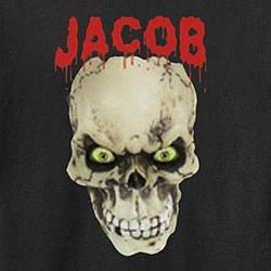 Personalized Creepy Skull T-Shirt