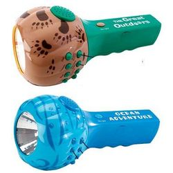 Sound and Light Flashlight with Nature Sounds