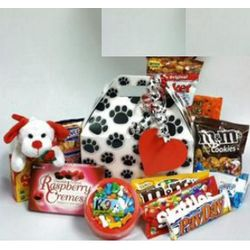 Puppy Love Valentine Candy Box