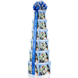 Penguin Parade Snack Tower