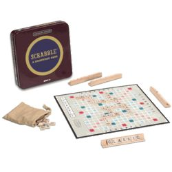 Scrabble Nostalgia Tin Edition