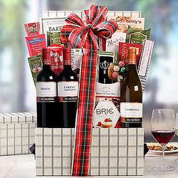 Mezzacornoa Winery Italian Trio Gift Basket