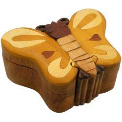 Butterfly II Secret Wooden Puzzle Box