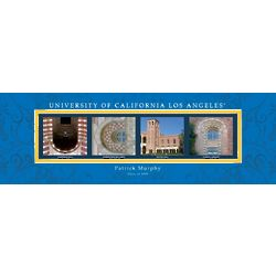 UCLA Architecture Personalized Art Print
