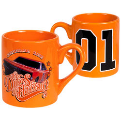 Dukes of Hazzard General Lee Mug