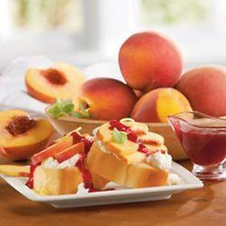 Oregold® Peach Melba Dessert