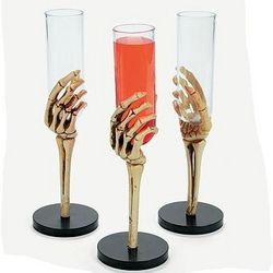 Skeleton Hand Glasses