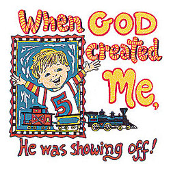When God Created Me... Boy T-Shirt