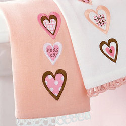Sweet Talk Embroidered Guest Towel Set
