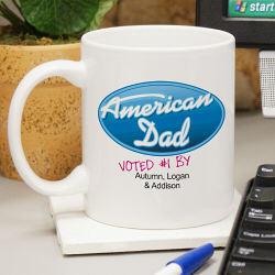Personalized American Dad Coffee Mug