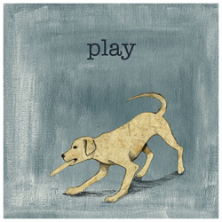 Dog Days - Play Wall Art