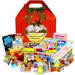 Home for the Holidays Nostalgic Candy Box