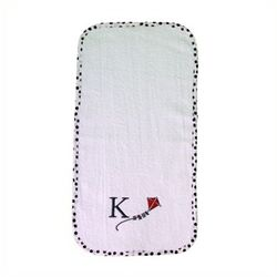 Personalized Alphabet Terry Cloth Burp Cloth
