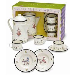 Tea for Three Poodle Party Tea Set