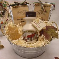 Simply Maple Gift Bucket